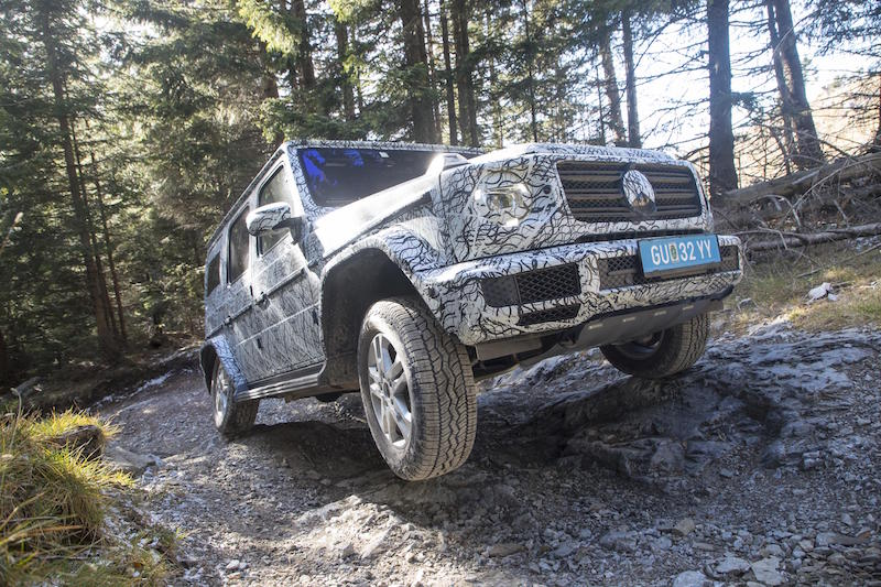 Mercedes G-Class proves it's no off-road wimp