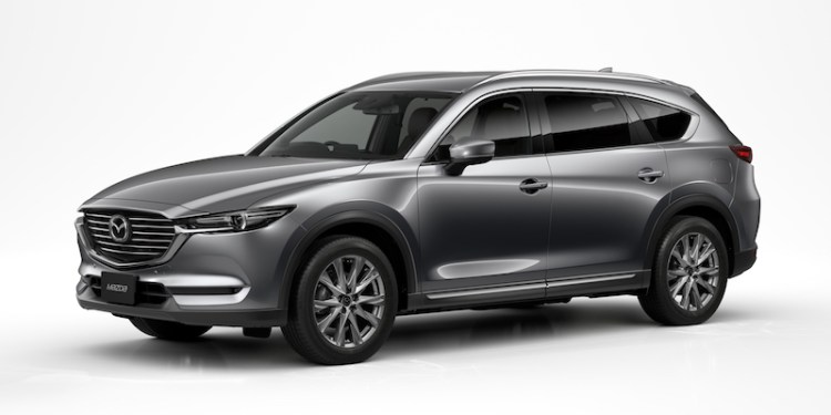 The Brand-New Mazda CX-8 Diesel will join the family, arriving on Aussie shores in the second half of 2018.