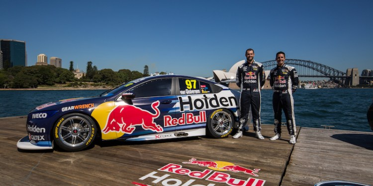 Red Bull Holden Racing Team Commodore Supercar revealed