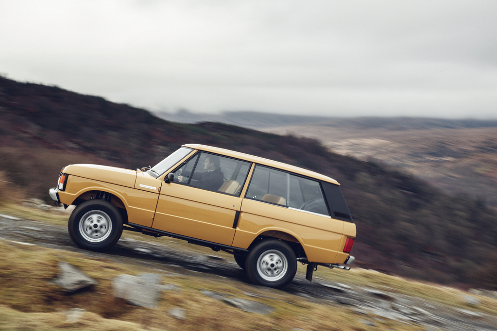 Original three-door Range Rover 1978