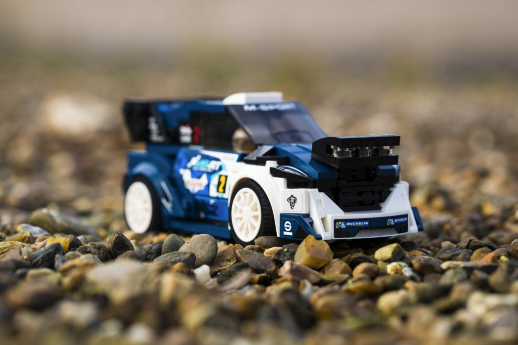 Lego 1968 Mustang Fastback and M-Sport Ford Fiesta WRC rally car ...