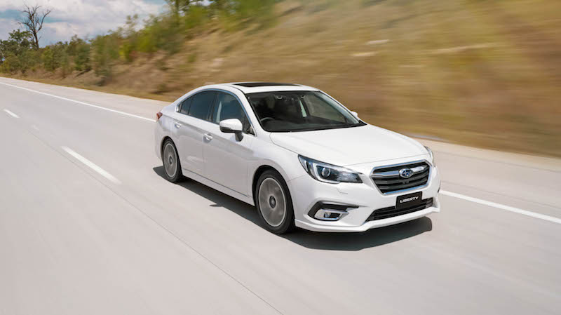 Subaru Liberty 2.5i Premium Review