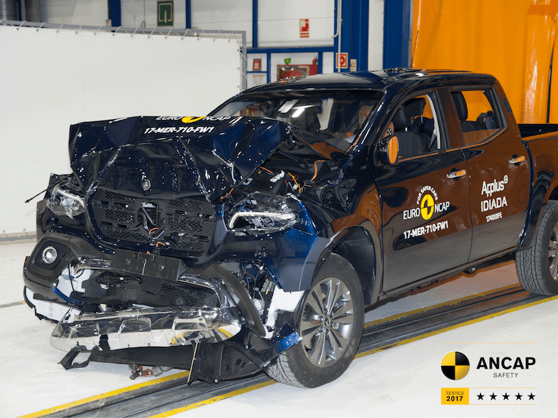 Mercedes-Benz X-Class Scores Five-Star ANCAP Rating