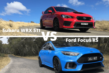 Subaru WRX STi Vs Ford Focus RS