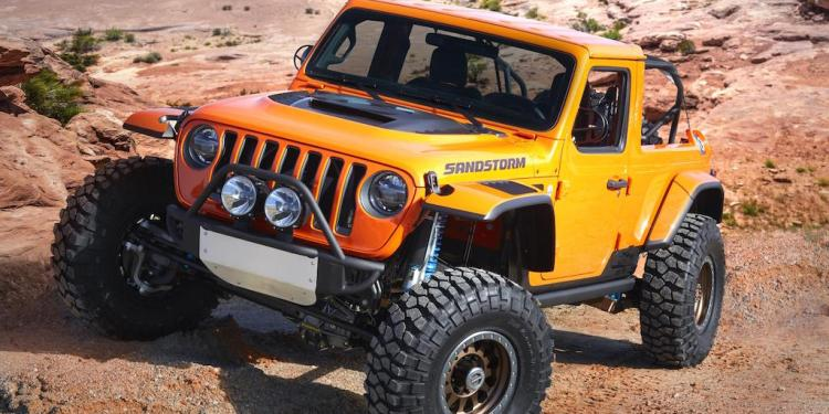 Jeep and Mopar have teamed up to produce seven Easter Jeep Safari concepts for the annual event in Moab, March 24 – April 1.