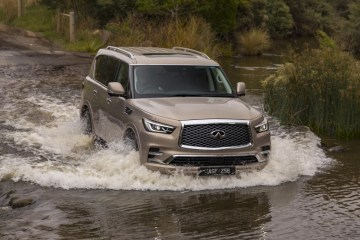 refreshed 2018 Infiniti QX80