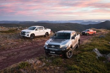 Toyota HiLux variants