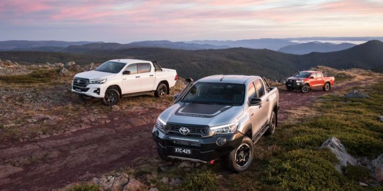 Toyota HiLux variants