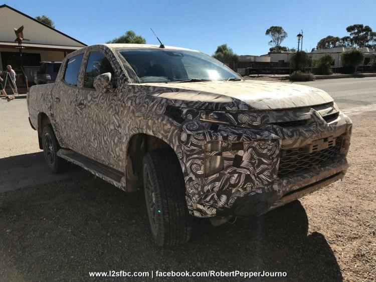 2019 Mitsubishi Triton spied