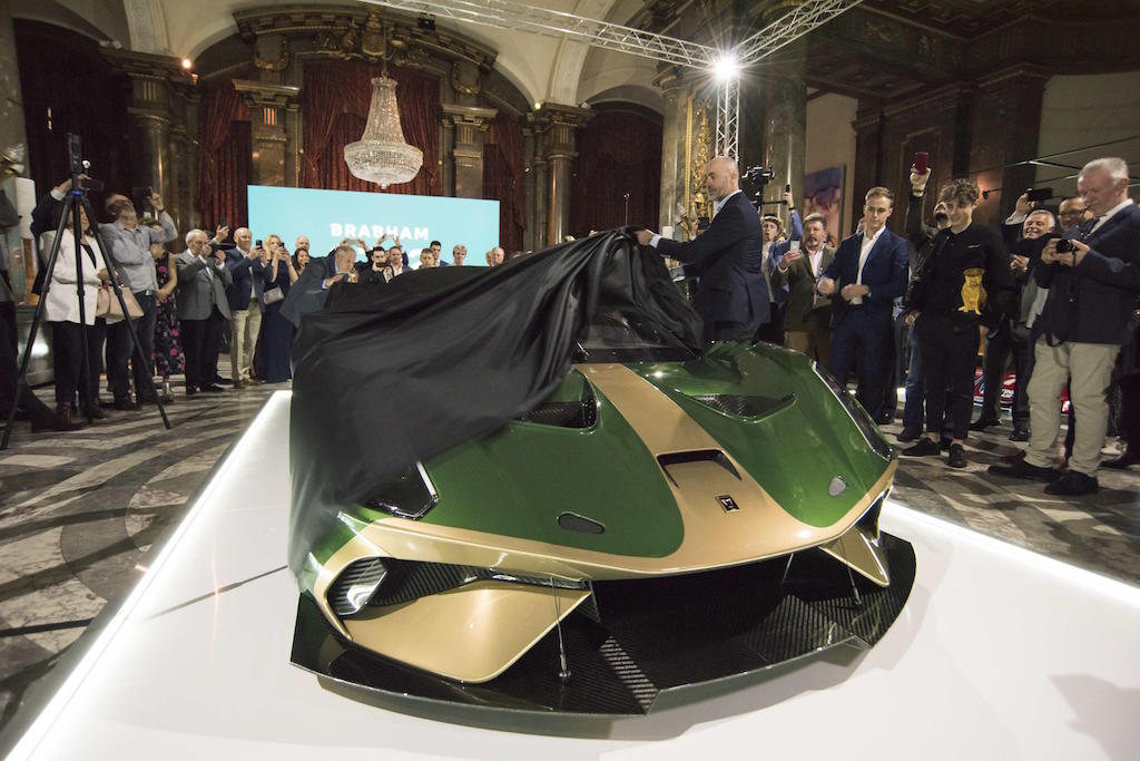 Brabham unveils £1m, 700bhp track auto called the BT62