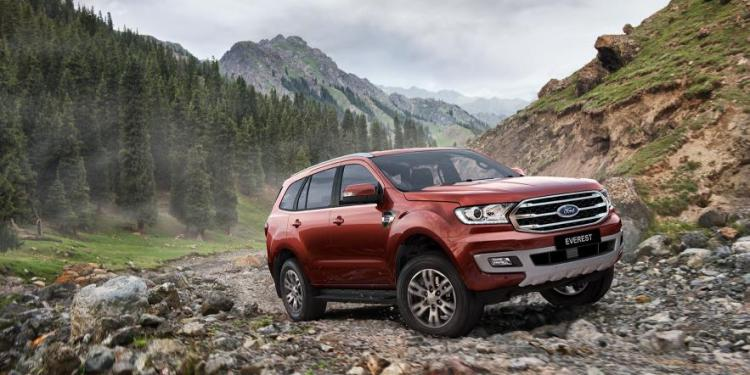 refreshed 2019 Ford Everest