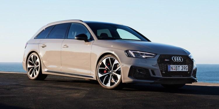 all-new 2018 Audi RS4 Avant
