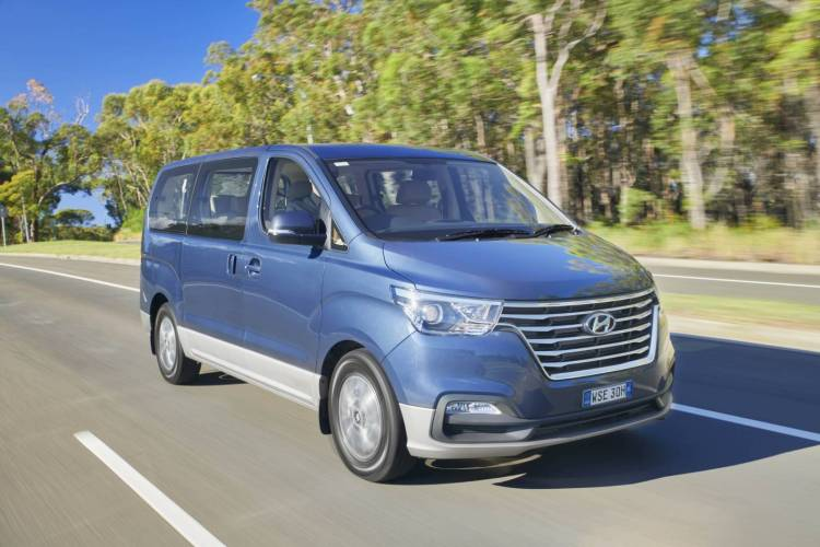 refreshed 2019 Hyundai iLoad