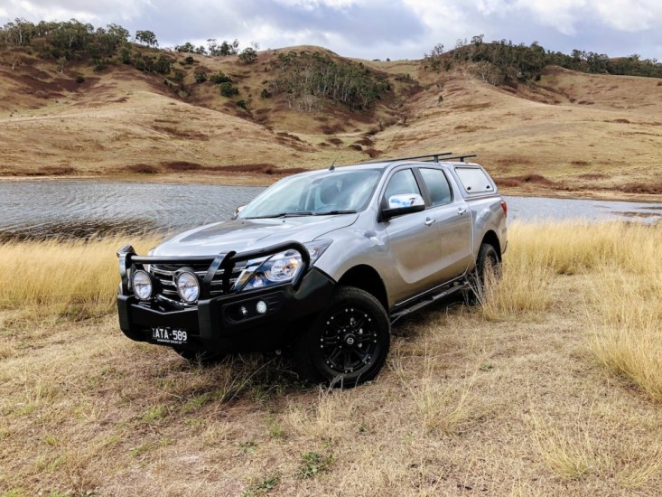 Practical Motoring's review of the refreshed 2018 mazda BT-50 GT 4x4 dual-cab