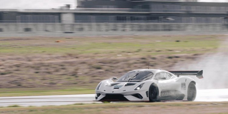 The Brabham BT62 has completed its final round of dynamic testing in Australia ahead of its next round of testing in Europe.
