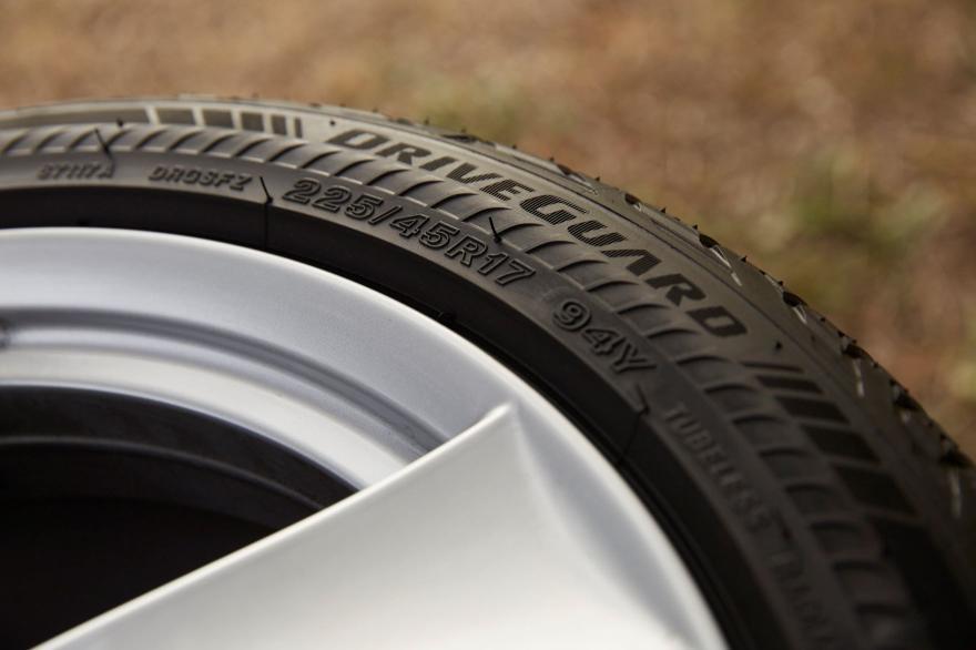Bridgestone DriveGuard run-flat tyre