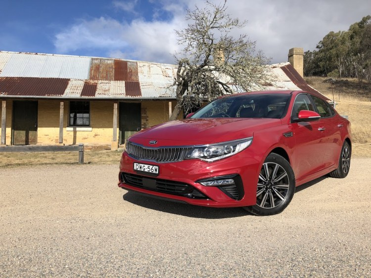 2019 Kia Optima Si Review by PracticalMotoring.com.au