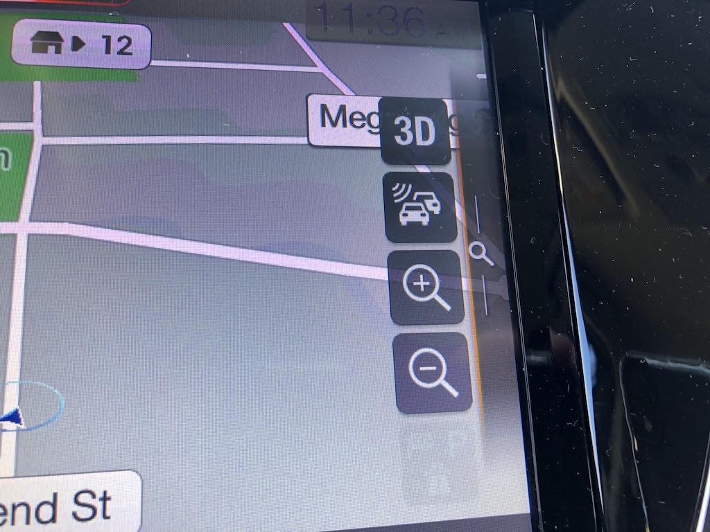 Mazda BT-50 infotainment