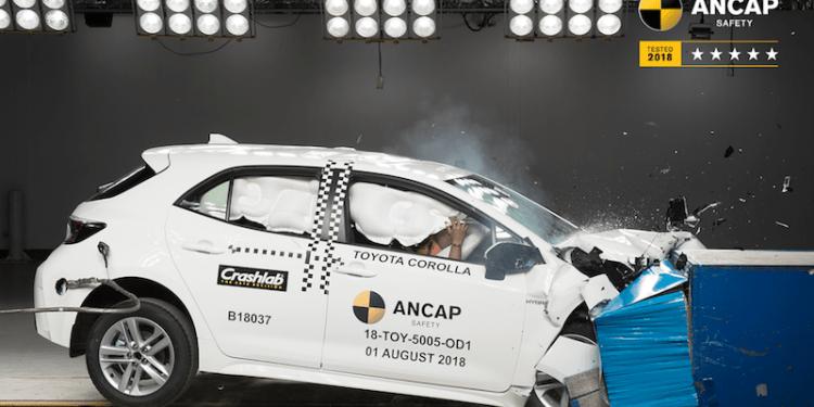 2019 Toyota Corolla awarded 5 star ANCAP rating