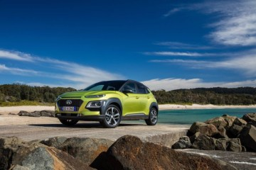 Refreshed Hyundai Kona detailed