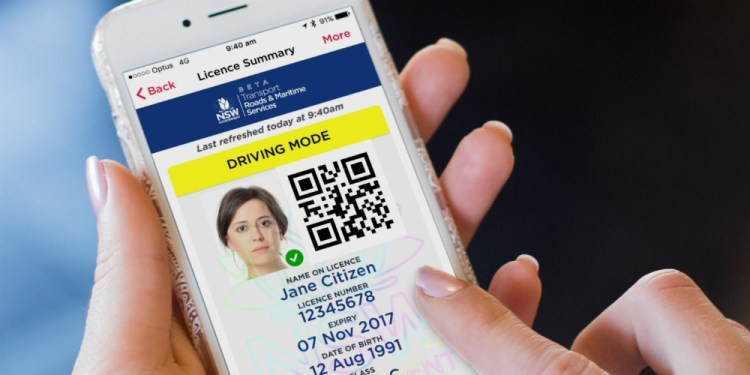 digital driver licence trial to begin in Eastern suburbs of Sydney NSW