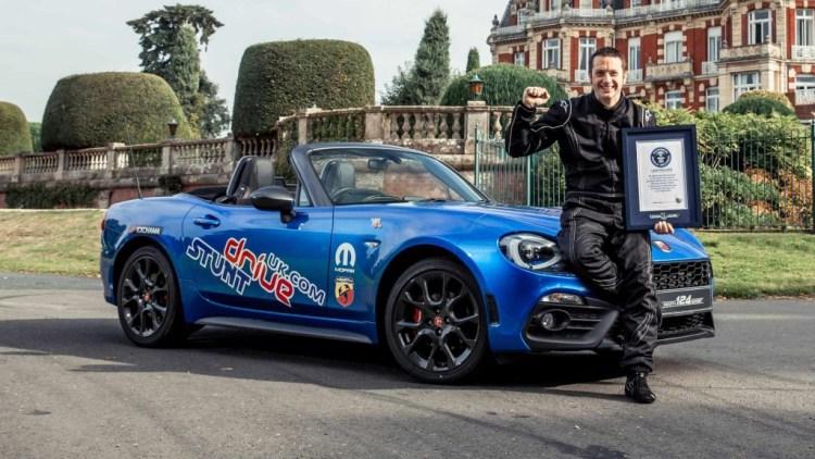 Alistair Moffatt sets Guiness World Record