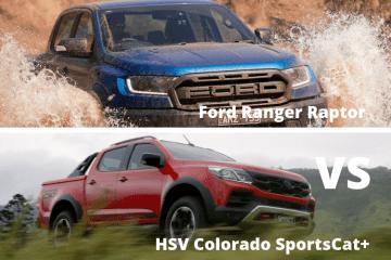 Ford Ranger Raptor Vs HSV Colorado Sportscat+