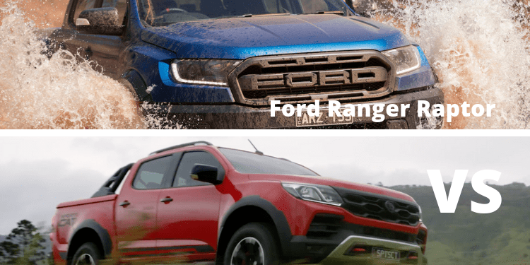 Ford Ranger Raptor Vs HSV Colorado Sportscat+