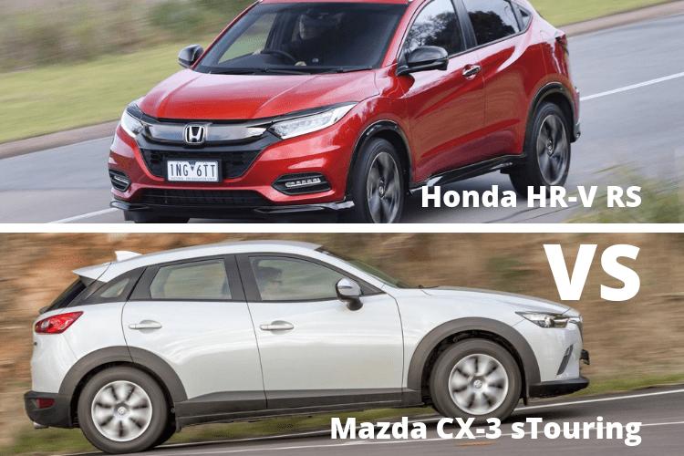 Honda HR-V Vs Mazda CX-3