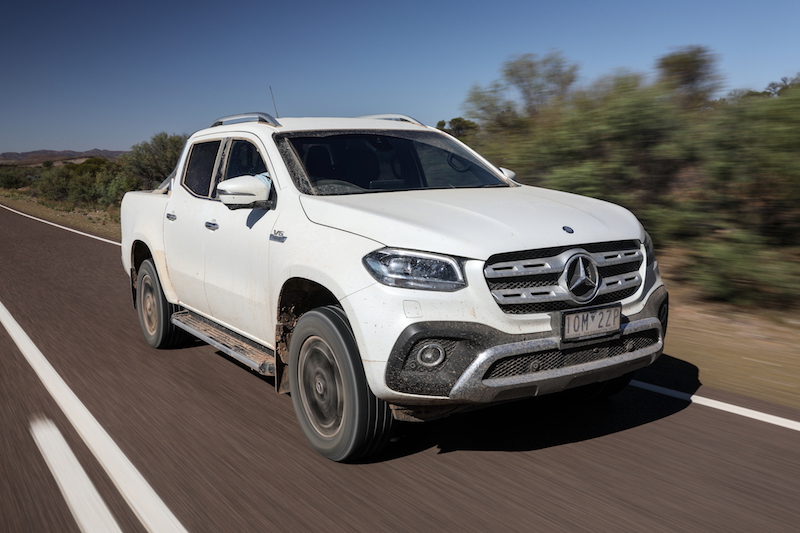 Mercedes-Benz X350d Review