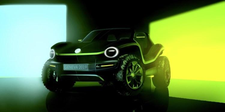 Volkswagen e-buggy concept