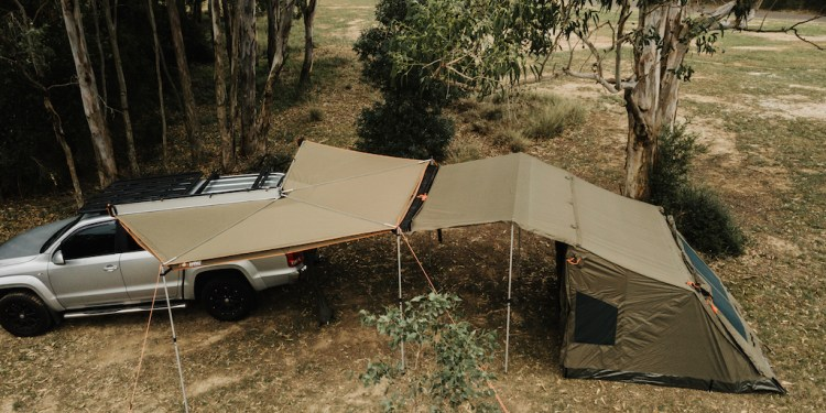 Oztent updates Foxwing range