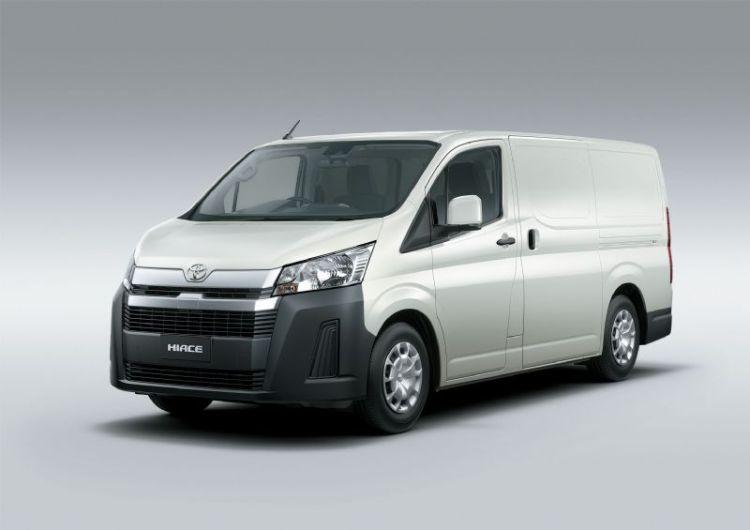 all-new Toyota HiAce