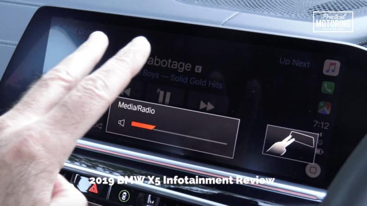 2019 BMW X5 Infotainment Review