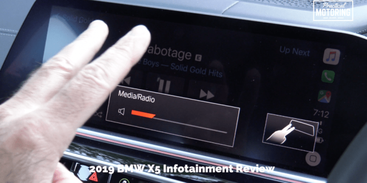 2019 BMW X5 Infotainment Review