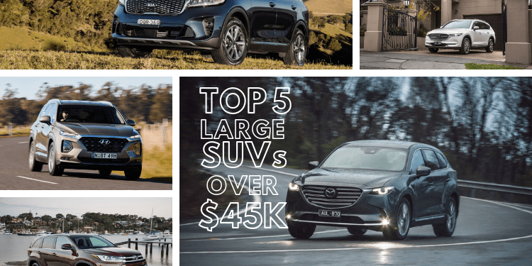 TOP 5 Best Large SUVs over $45k