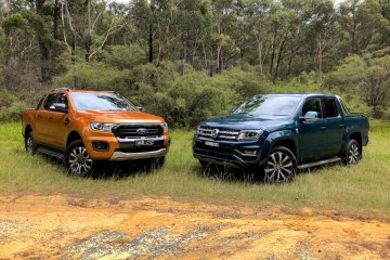 2019 Ford Ranger Wildtrak bi-turbo vs Volkswagen Amarok V6 580