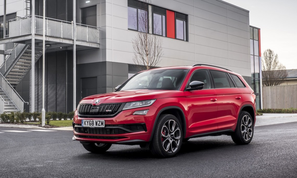 2019 Skoda Kodiaq RS Review