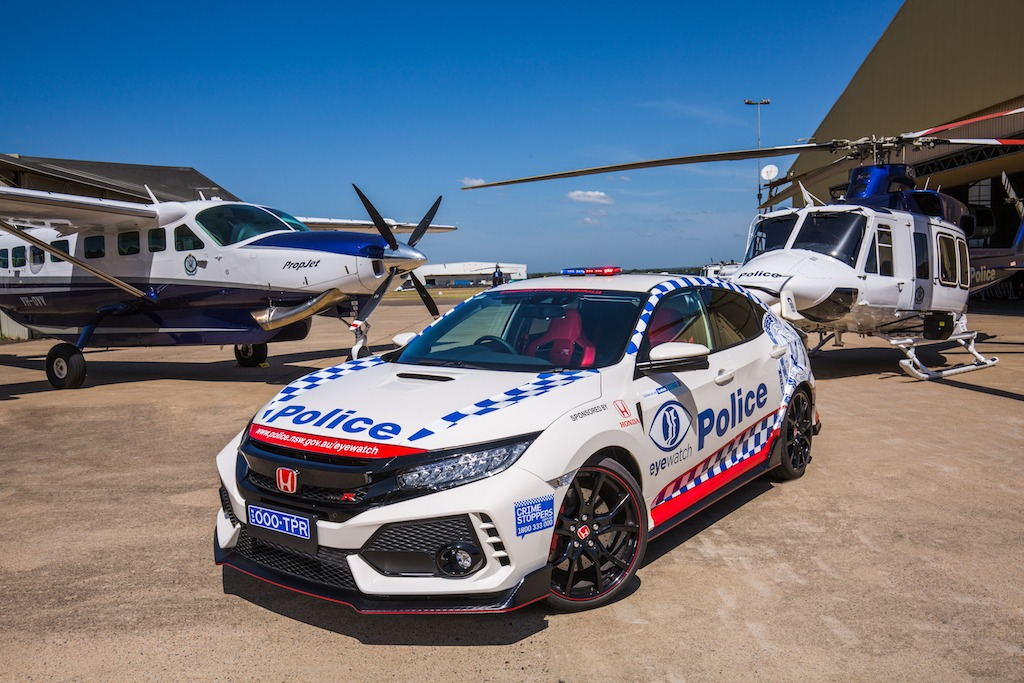 Honda Civic Type R joins NSW Police Force | Practical Motoring