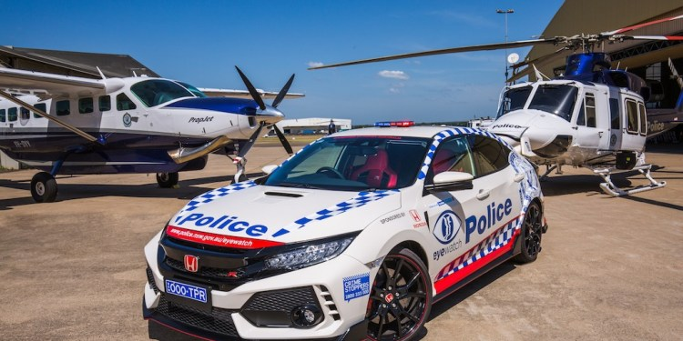 Honda Civic Type R Joins NSW Police Force