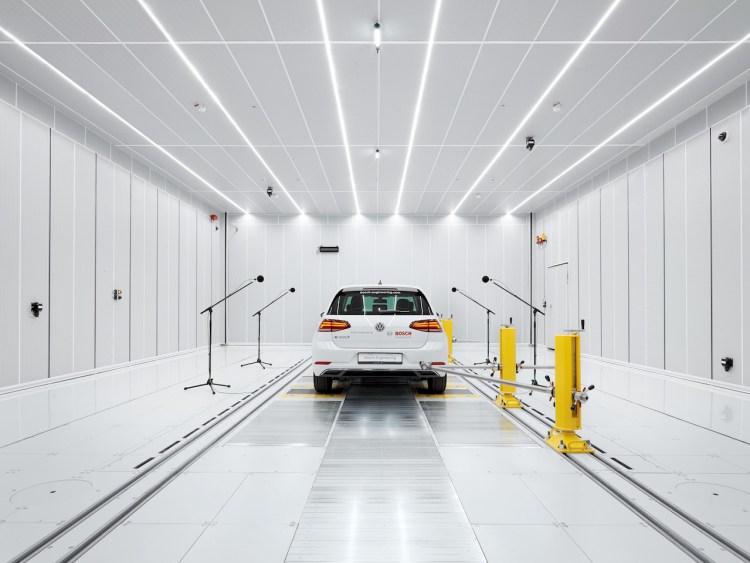 Bosch acoustics centre