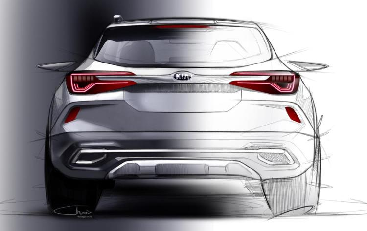Kia reveals first image of new small SUV