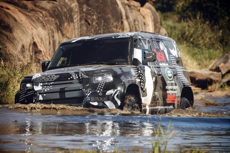 prototype 2020 Land Rover Defender