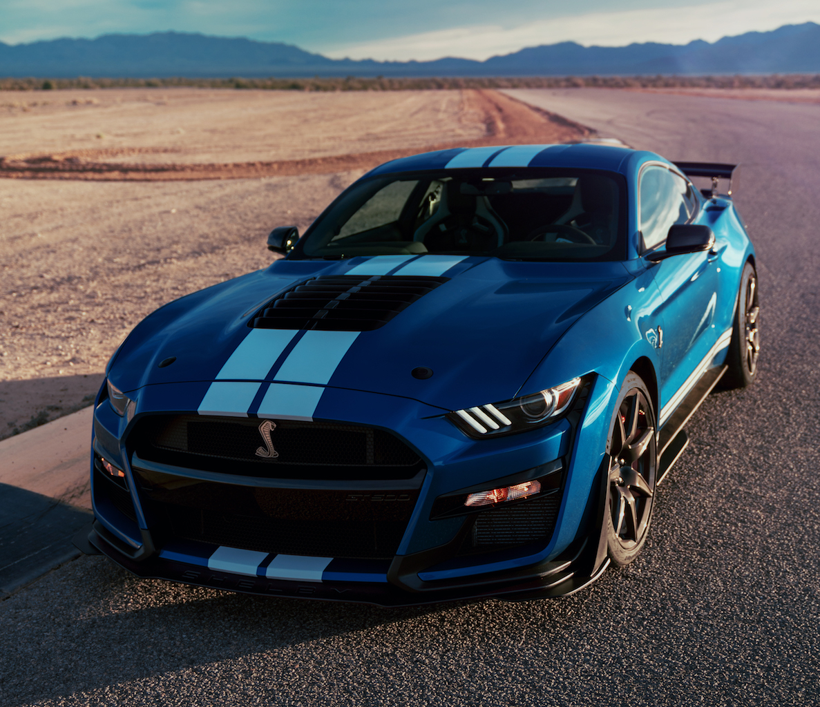2020 ford mustang shelby gt500 makes more than 550kw
