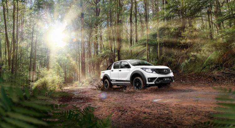 Based on the Mazda BT-50 GT, the Boss is now the new top-spec dual-cab 4x4 ute in Mazda's line-up, and it's on-sale now from $55,990 driveaway.