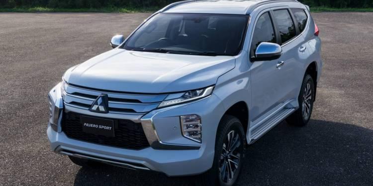 refreshed 2020 Mitsubishi Pajero Sport