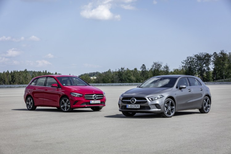 Mercedes Electrifies A-Class, B-Class With Plug-in Power