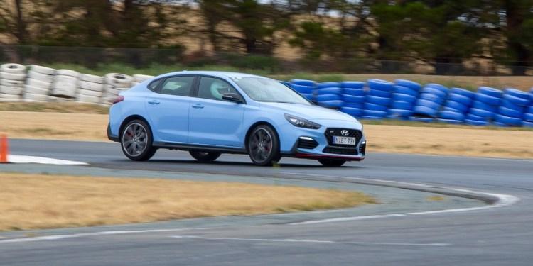 Hyundai i30 N track racing test