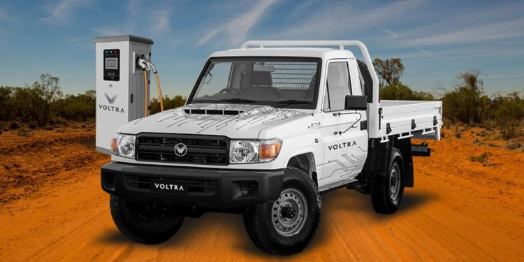 electric Toyota Land Cruiser Voltra Australia