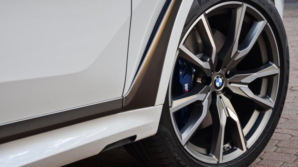 BMW X7 M50d alloy wheel